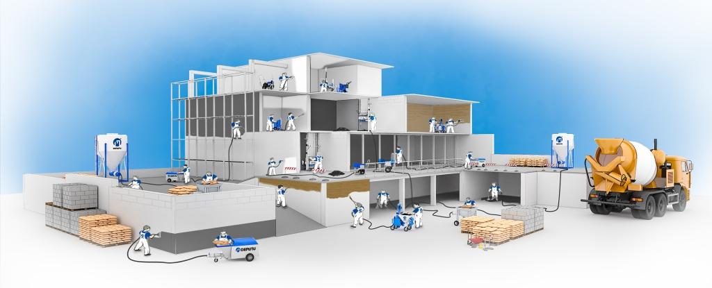 derutu plastering solution